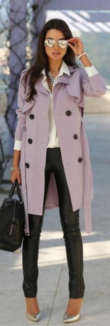 Lavander coat