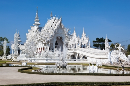 Buddhist Temples In Thailand & Cambodia