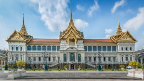 Chakri Maha Prasat in the Grand Palace, completed in 1882