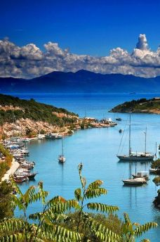 Gaios Harbour, Paxos Island, Greece