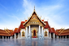 Marble Temple Wat Benchamabophit Bangkok, Thailand