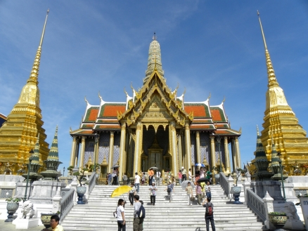 Royal Pantheon - Wat Phra Kaew (Temple of the Emerald Buddha - Grand Palace Complex
