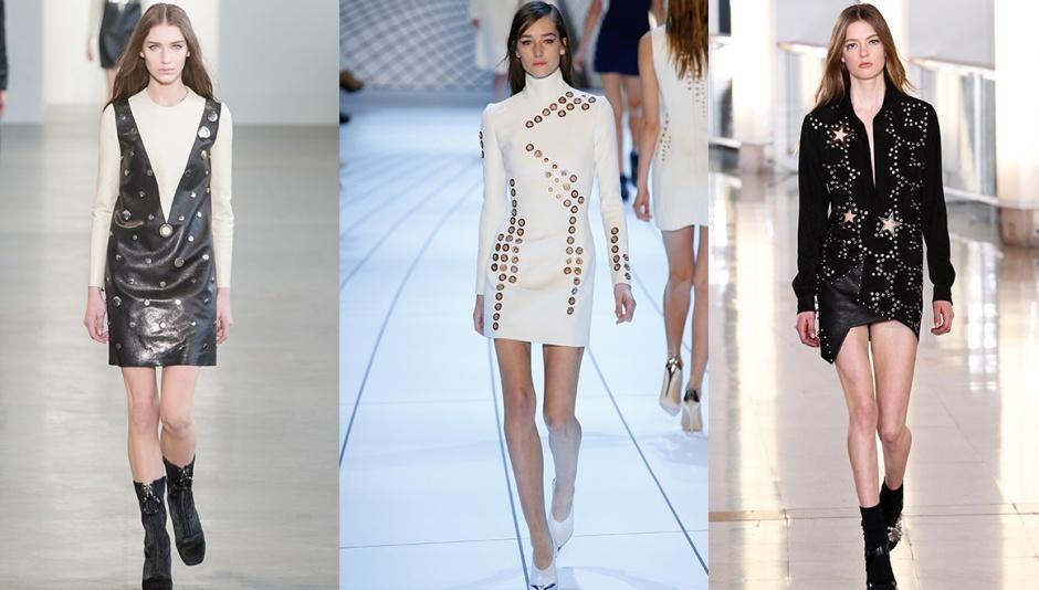 Calvin Klein Collection, Mugler and Anthony Vaccarello