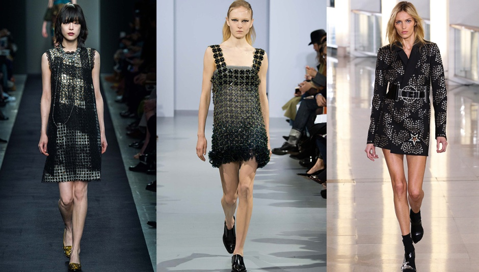 Bottega Veneta, Paco Rabanne and Anthony Vaccarello