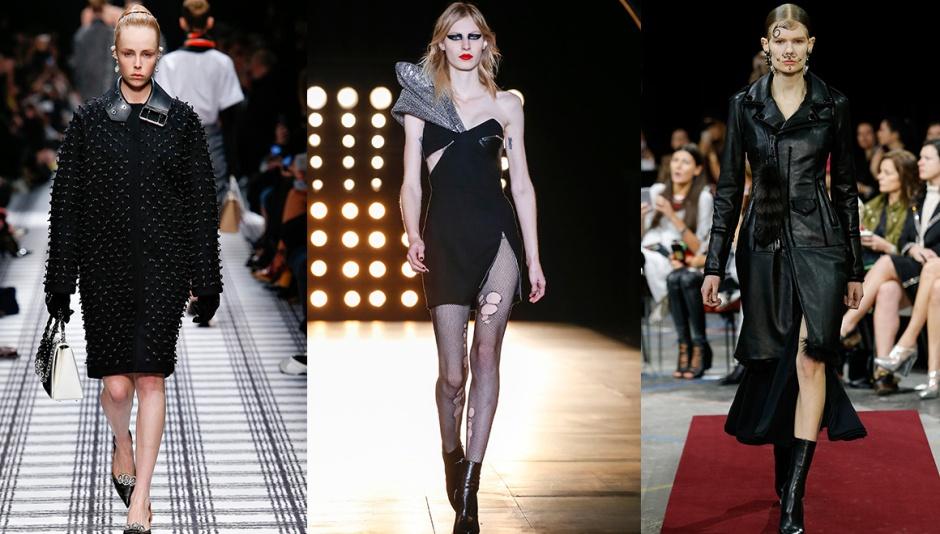 Balenciaga, Saint Laurent and Givenchy