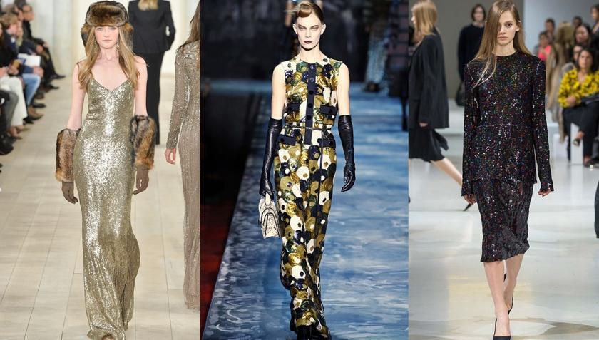 Ralph Lauren Collenction, Marc Jacobs and Nina Ricci