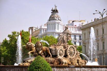 Plaza de cibeles Fountain