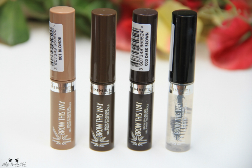 REVIEW: Rimmel Brow Gel Mascaras by katiesnooks.com