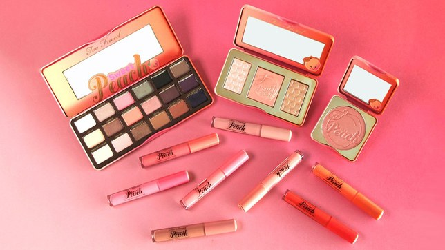 The Too Faced Sweet Peach Collection Is Selling Out Fast, and the Internet Has a Lot of Feelings About It by glamour.com