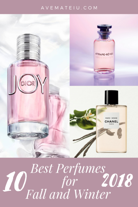 Best Perfumes for Fall and Winter 2018 Ave Mateiu