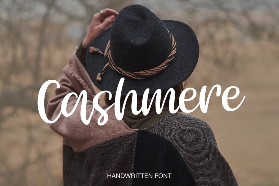 Cashmere Cashmere script- a new fresh handmade signature font. This font is ideal for branding and decorates your any project, are perfect for wedding invitation or your blog. Also with their help, you can create a logo or beautiful frame for your home. Or just use for your small business, book covers, stationery, marketing, magazines and more. Buy Now $12