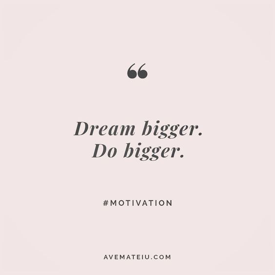 Always dream bigger. Do bigger. Quote 12 😎🔝•••#quote #quotes #quoteoftheday #qotd #motivation #inspiration #instaquotes #quotesgram #quotestags #motivational #inspo #motivationalquotes #inspirational #inspirationalquotes #inspirationoftheday #positive #life #succes #blogger #blog #confidence #happy #beautiful #lyrics #instadaily #bestoftheday #mondaymotivation #lovequotes #goodvibes