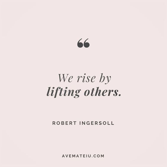 We rise by lifting others. Robert Ingersoll Quote 13🔝🤗🤩• • • #quote #quotes #quoteoftheday #qotd #motivation #inspiration #instaquotes #quotesgram #quotestags #motivational #inspo #motivationalquotes #inspirational #inspirationalquotes #inspirationoftheday #positive #life #succes #blogger #successquotes #confidence #happy #beautiful #lyrics #instadaily #bestoftheday #quotes #lovequotes