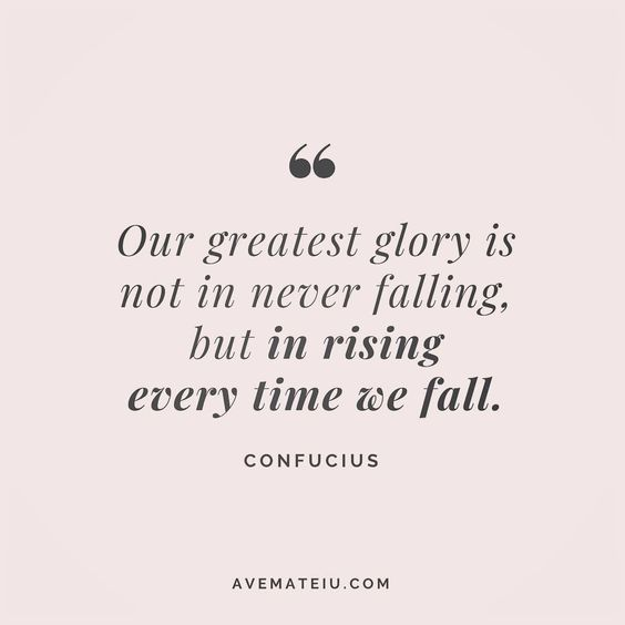 Our greatest glory is not in never falling, but in rising every time we fall. Confucius Quote 19😏😎🔝•••#quote #quotes #quoteoftheday #qotd #motivation #inspiration #instaquotes #quotesgram #quotestags #motivational #inspo #motivationalquotes #inspirational #inspirationalquotes #inspirationoftheday #positive #life #succes #blogger #blog #confidence #happy #beautiful #lyrics #instadaily #bestoftheday #quotes #lovequotes #goodvibes