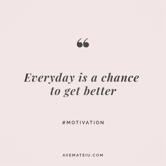 Everyday is a chance to get better. Quote 21😏😎🔝•••#quote #quotes #quoteoftheday #qotd #motivation #inspiration #instaquotes #quotesgram #quotestags #motivational #inspo #motivationalquotes #inspirational #inspirationalquotes #inspirationoftheday #positive #life #succes #blogger #blog #confidence #happy #beautiful #lyrics #instadaily #bestoftheday #quotes #lovequotes #goodvibes