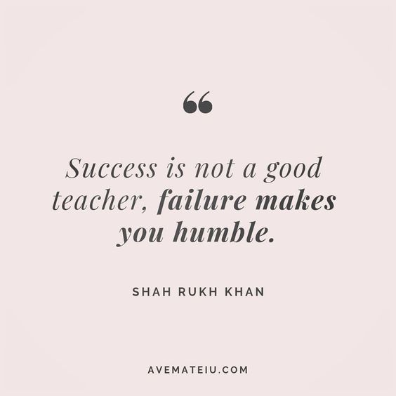 Success is not a good teacher, failure makes you humble. Shah Rukh Khan Quote 36 😏😎🔝•••#quote #quotes #quoteoftheday #qotd #motivation #inspiration #instaquotes #quotesgram #quotestags #motivational #inspo #motivationalquotes #inspirational #inspirationalquotes #inspirationoftheday #positive #life #succes #blogger #successquotes #confidence #happy #beautiful #lyrics #instadaily #bestoftheday #quotes #lovequotes #goodvibes