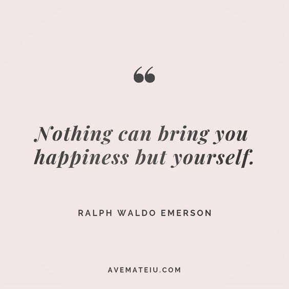 Nothing can bring you happiness but yourself. Ralph Waldo Emerson Quote 88 😏😎🔝•••#quote #quotes #quoteoftheday #quotesaboutlife #motivation #inspiration #instaquotes #quotesgram #quotestags #motivational #wisdomquotes #motivationalquotes #inspirational #inspirationalquotes #inspirationoftheday #positive #life #success #faithquotes #successquotes #confidencequotes #happyquotes #positivequotes #quotestoliveby #instadaily #strengthquotes #encouragementquotes #lovequotes #goodvibes #avemateiuquot