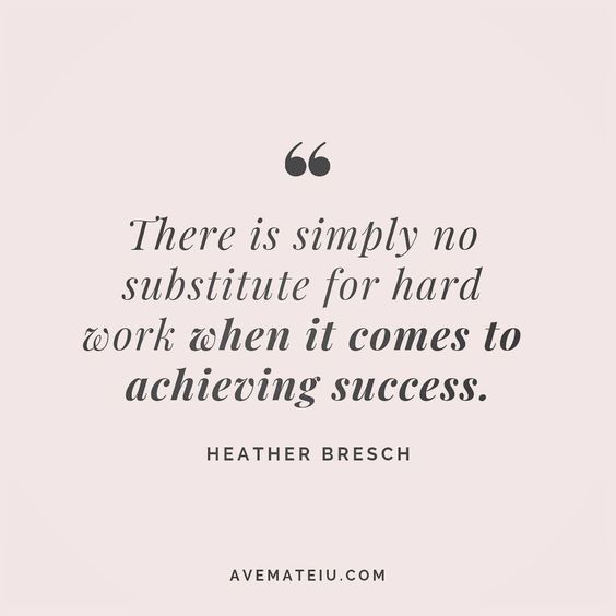 There is simply no substitute for hard work when it comes to achieving success. Heather Bresch Quote 92 😏😎🔝•••#quote #quotes #quoteoftheday #quotesaboutlife #motivation #inspiration #instaquotes #quotesgram #quotestags #motivational #wisdomquotes #motivationalquotes #inspirational #inspirationalquotes #inspirationoftheday #positive #life #success #faithquotes #successquotes #confidencequotes #happyquotes #positivequotes #quotestoliveby #instadaily #strengthquotes #encouragementquotes #lovequo