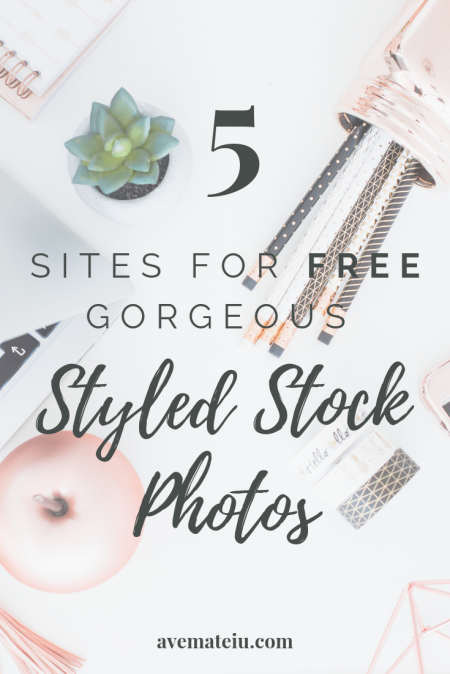 sites for free styled stock photos