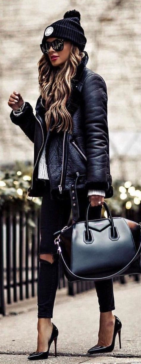 Fall Winter 2018 Top 10 Must-Haves faux leather jacket 6