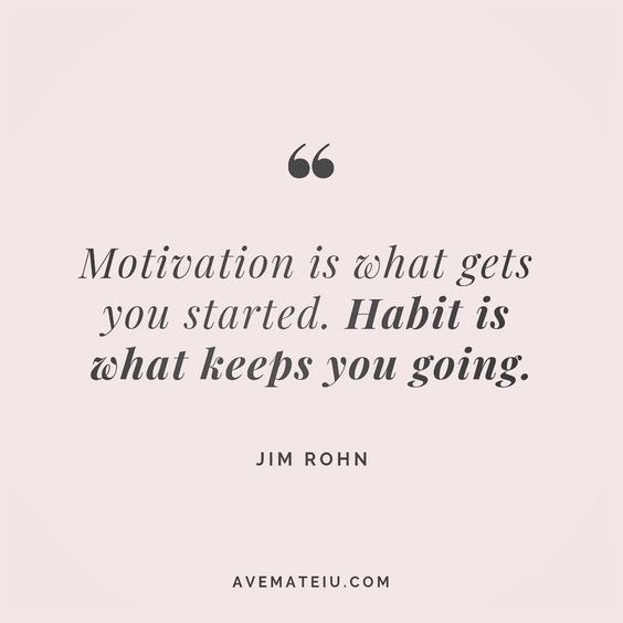Motivation is what gets you started. Habit is what keeps you going. Jim Rohn Quote 132😏😎🔝•••#quote #quotes #quoteoftheday #qotd #motivation #inspiration #instaquotes #quotesgram #quotestags #motivational #inspo #motivationalquotes #inspirational #inspirationalquotes #inspirationoftheday #positive #life #succes #blogger #successquotes #confidence #happy #beautiful #lyrics #instadaily #bestoftheday #quotes #lovequotes #goodvibes