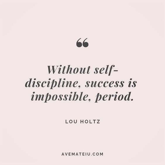 Without self-discipline, success is impossible, period. Lou Holtz Quote 154 😏😎🔝 • • • #quote #quotes #quoteoftheday #qotd #motivation #inspiration #instaquotes #quotesgram #quotestags #motivational #inspo #motivationalquotes #inspirational #inspirationalquotes #inspirationoftheday #positive #life #succes #blogger #successquotes #confidence #happy #beautiful #lyrics #instadaily #bestoftheday #quotes #lovequotes #goodvibes