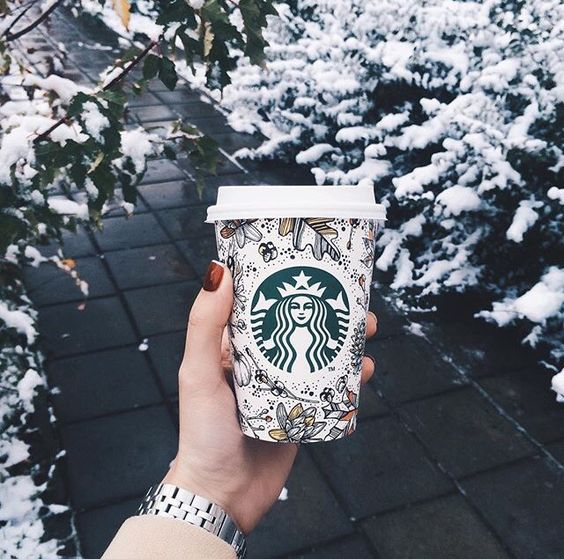 starbuck coffee winter