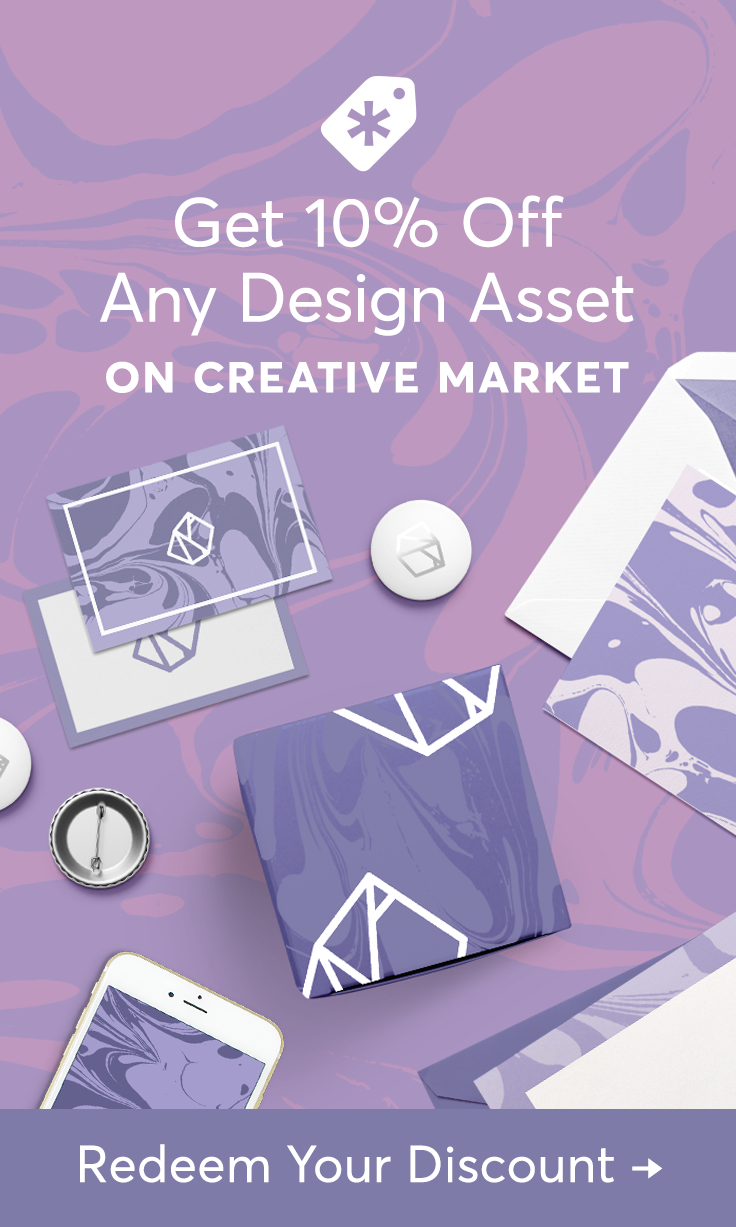 Promoting products on Creative Market enables independent designers and creators around the world to spend more time doing what they love.