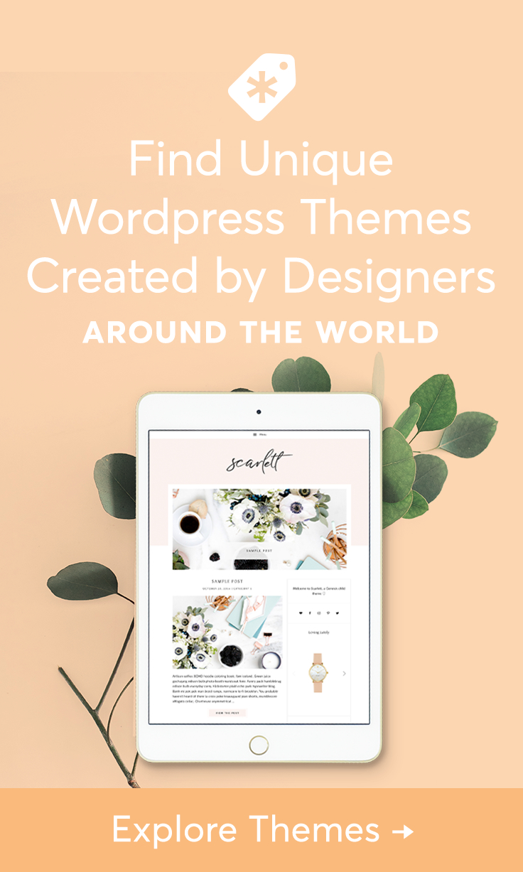 Premium and responsive WordPress themes for business, personal blogs, e-commerce sites, and more.
