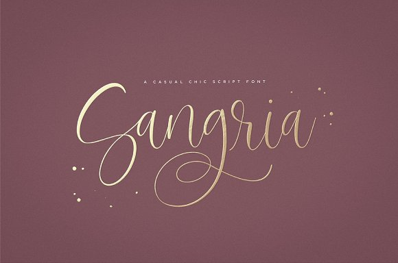 Sangria Script Font was built with OpenType features and includes beginning and ending swashes, numbers, punctuation, alternates, ligatures and it also supports other languages - Handwritten Fonts, Alphabet Fonts, Free Fonts, Script Fonts, Modern Fonts, Cursive Fonts, Design Fonts, Rustic Fonts, Calligraphy Fonts, Simple Fonts, Typography, Serif Fonts, Elegant Fonts, Professional Fonts, Beautiful Fonts Buy Now $23 https://avemateiu.com/fonts/