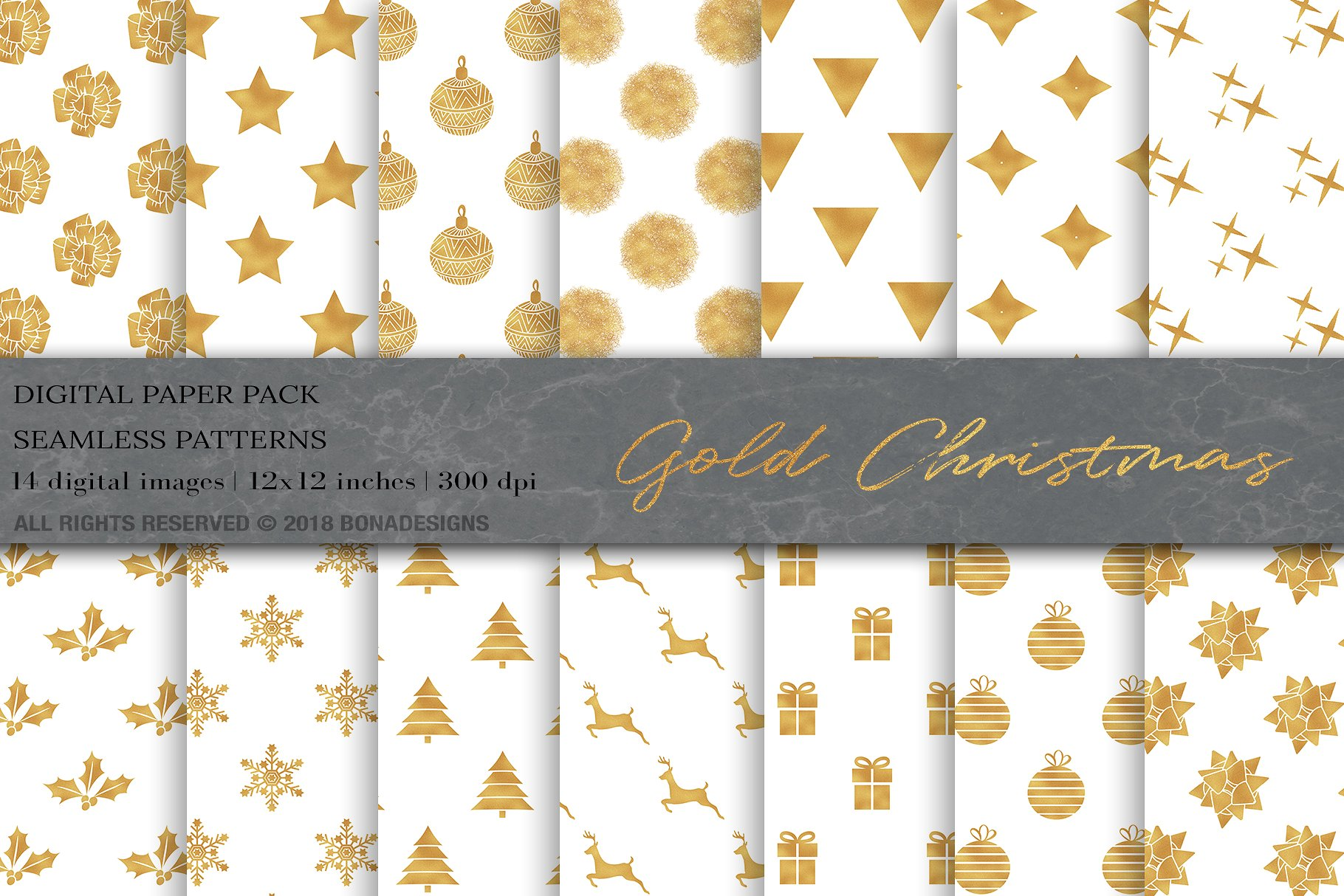 Gold Christmas Digital Papers- Buy Now $5 - Patterns, Pattern, Design Patterns, Art Patterns, Designs Patterns, Doodle Patterns, Floral Patterns, Illustration Patterns, Colorful Patterns, Modern Patterns, Fashion Patterns, Geometric Patterns https://avemateiu.com/patterns/