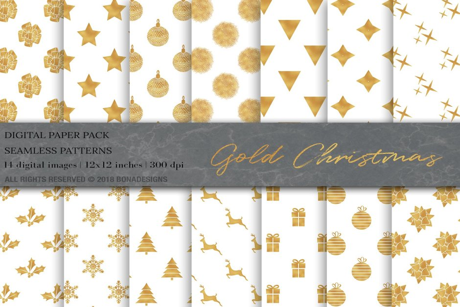 Gold Christmas Digital Papers- Buy Now $5 - Patterns, Pattern, Design Patterns, Art Patterns, Designs Patterns, Doodle Patterns, Floral Patterns, Illustration Patterns, Colorful Patterns, Modern Patterns, Fashion Patterns, Geometric Patterns https://avemateiu.com/patterns/
