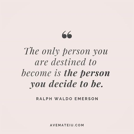The only person you are destined to be is the person you decide to be. Ralph Waldo Emerson Quote 216 😏😎🔝 • • • #quote #quotes #quoteoftheday #qotd #motivation #inspiration #instaquotes #quotesgram #quotestags #motivational #inspo #motivationalquotes #inspirational #inspirationalquotes #inspirationoftheday #positive #life #succes #blogger #successquotes #confidence #happy #beautiful #lyrics #instadaily #bestoftheday #quotes #lovequotes #goodvibes
