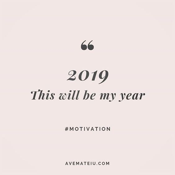 Repeat after me: 2019 - This will be my year. Quote 236 😏 Let's make 2019 the best year of our lives 😎 More quotes on avemateiu.com/quotes 🔝 • • • #MotivationalQuoteOfTheDay #quote #quotes #quoteoftheday #qotd #motivation #inspiration #instaquotes #quotesgram #quotestags #motivational #inspo #motivationalquotes #inspirational #inspirationalquotes #inspirationoftheday #positivequotes #lifequotes #success #leadershipquote #successquotes #confidence #happinessquotes #deepquotes #instadaily #bestoftheday #lovequotes #goodvibes #beautifulwords #wisdomquotes