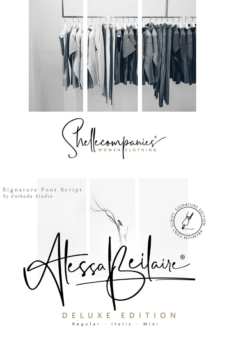 Font Of The Day - January 1, 2019 Alessa Beilaire Deluxe Edition Buy Now $18 - Handwritten Fonts, Alphabet Fonts, Free Fonts, Script Fonts, Modern Fonts, Cursive Fonts, Design Fonts, Rustic Fonts, Calligraphy Fonts, Simple Fonts, Typography, Serif Fonts, Elegant Fonts, Professional Fonts, Beautiful Fonts https://avemateiu.com/fonts/