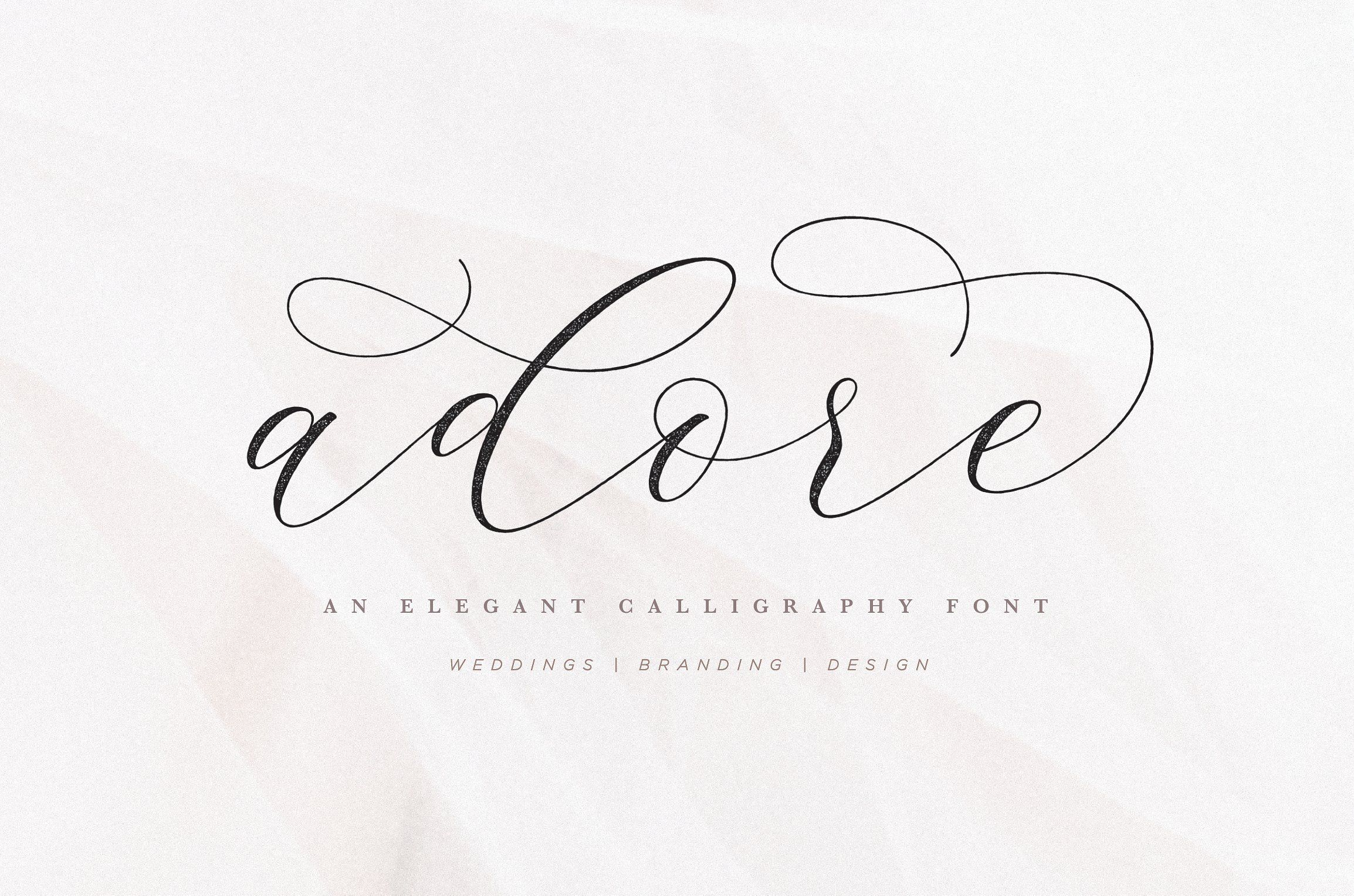 Adore Calligraphy Font - Check out my list with 10 of the BEST Script Fonts from Creative Market for branding your projects in 2019. It is never too late to add charm to your blog! Art, Fonts and Calligraphy, Typography, Handwritten Fonts, Script Fonts, Modern Fonts, Cursive Fonts, Design Fonts, Calligraphy Fonts, Simple Fonts, Elegant Fonts, Professional Fonts, Beautiful Fonts