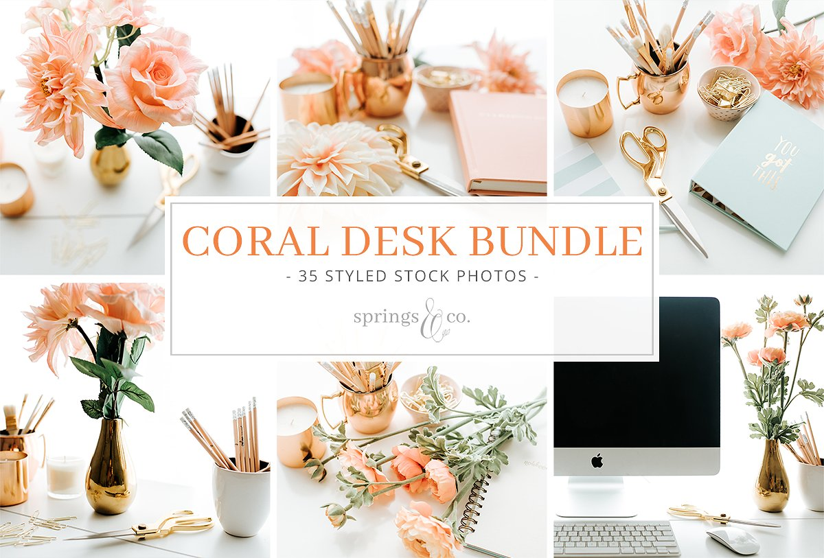 Coral Desk Styled Stock Photo Bundle Styled Stock Photos, Flat Lay Styled Stock Photos, Creative Styled Stock Photos, Gold Styled Stock Photos, Fashion Styled Stock Photos, Inspiration Styled Stock Photos, Styled Stock Photography, Business, Desktops, Flowers, Social Media https://avemateiu.com/styled-stock-photos/ *affiliate