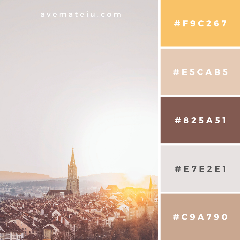 Color Palette #177 Color combination, Color pallets, Color palettes, Color scheme, Color inspiration, Colour Palettes, Art, Inspiration, Vintage, Bright, Blue, Warm, Dark, Design, Yellow, Green, Grey, Red, Purple, Rustic, Fall, Autumn, Winter, Christmas 2019, Nature, Spring, Summer, Flowers, Sunset, Sunrise, Pantone https://avemateiu.com/color-palettes/
