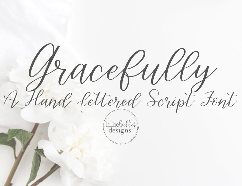 Gracefully-a Handwritten Script Font Buy Now $10 - Handwritten Fonts, Alphabet Fonts, Free Fonts, Script Fonts, Modern Fonts, Cursive Fonts, Design Fonts, Rustic Fonts, Calligraphy Fonts, Simple Fonts, Typography, Serif Fonts, Elegant Fonts, Professional Fonts, Beautiful Fonts https://avemateiu.com/fonts/ ‎
