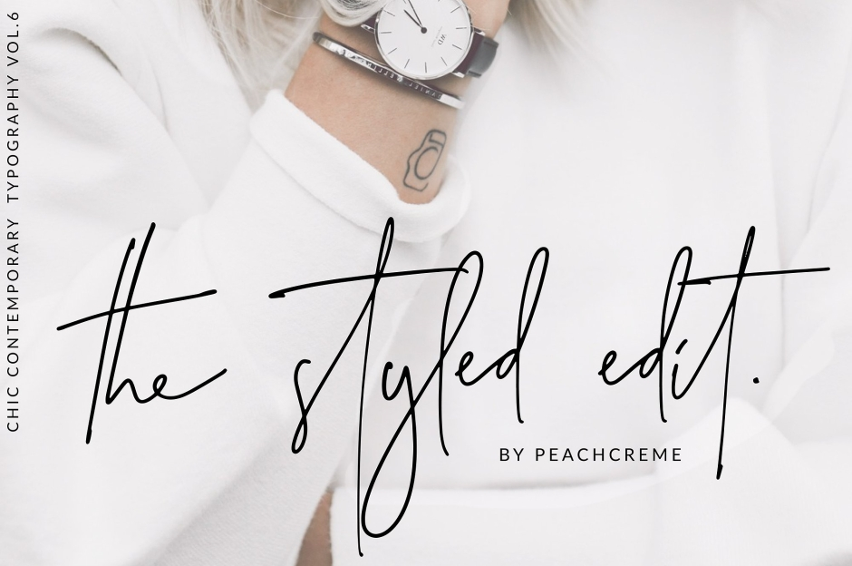The Styled Edit- Chic Ligature Font Handwritten Fonts, Alphabet Fonts, Free Fonts, Script Fonts, Modern Fonts, Cursive Fonts, Design Fonts, Rustic Fonts, Calligraphy Fonts, Simple Fonts, Typography, Serif Fonts, Elegant Fonts, Professional Fonts, Beautiful Fonts https://avemateiu.com/fonts/ *affiliate