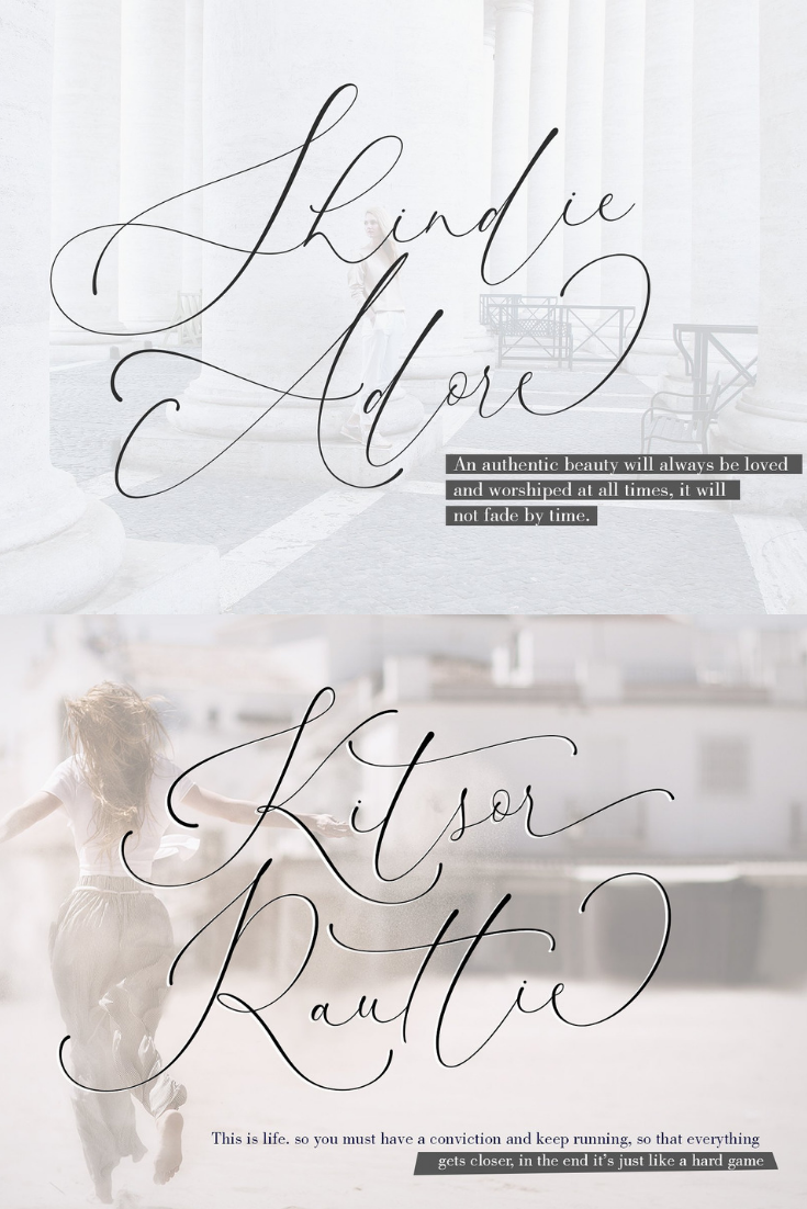 Font Of The Day - January 5, 2019 Kitsor Rauttie Handwritten Fonts, Alphabet Fonts, Free Fonts, Script Fonts, Modern Fonts, Cursive Fonts, Design Fonts, Rustic Fonts, Calligraphy Fonts, Simple Fonts, Typography, Serif Fonts, Elegant Fonts, Professional Fonts, Beautiful Fonts https://avemateiu.com/fonts/ *affiliate