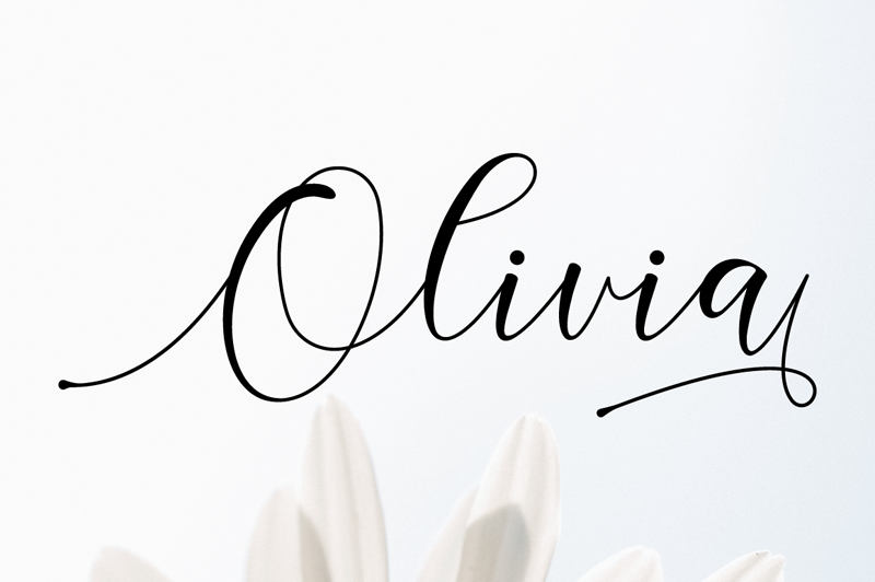 Olivia Script - 10 New Free Calligraphy Fonts - Art, Fonts and Calligraphy, Typography, Handwritten Fonts, Alphabet Fonts, Free Fonts, Script Fonts, Modern Fonts, Cursive Fonts, Design Fonts, Rustic Fonts, Calligraphy Fonts, Simple Fonts, Serif Fonts, Elegant Fonts, Professional Fonts, Beautiful Fonts
