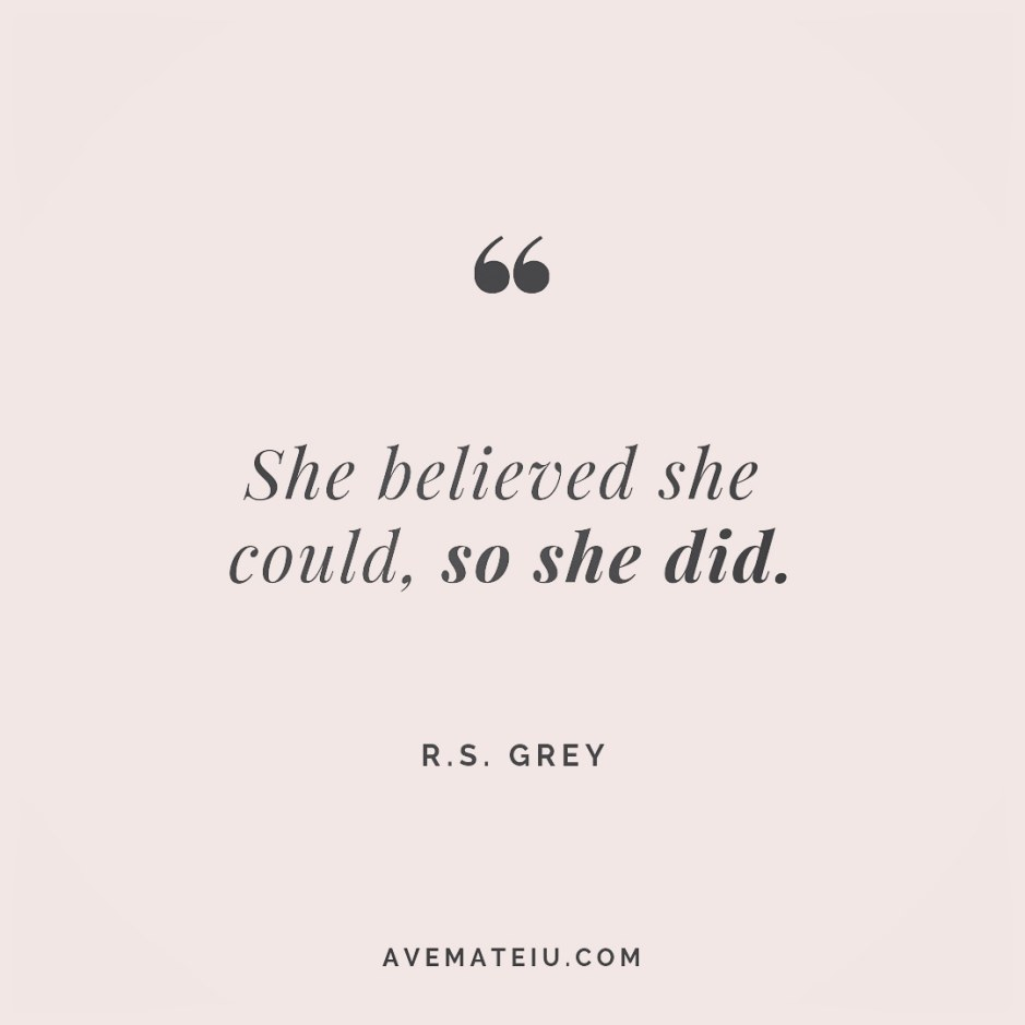 She believed she could, so she did. R.S. Grey Quote 241 😏😎 More quotes on avemateiu.com/quotes 🔝 • • • #MotivationalQuoteOfTheDay #quote #quotes #quoteoftheday #qotd #motivation #inspiration #instaquotes #quotesgram #quotestags #motivational #inspo #motivationalquotes #inspirational #inspirationalquotes #inspirationoftheday #positivequotes #lifequotes #success #leadershipquote #successquotes #confidence #happinessquotes #deepquotes #instadaily #bestoftheday #lovequotes #goodvibes #beautifulwords #wisdomquotes