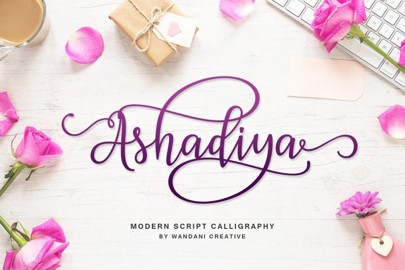 Ashadiya Calligraphy Font - Handwritten Fonts, Alphabet Fonts, Free Fonts, Script Fonts, Modern Fonts, Cursive Fonts, Design Fonts, Rustic Fonts, Calligraphy Fonts, Simple Fonts, Typography, Serif Fonts, Elegant Fonts, Professional Fonts, Beautiful Fonts https://avemateiu.com/fonts/ *affiliate