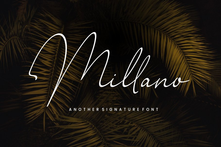 Millano Signature Font - Handwritten Fonts, Alphabet Fonts, Free Fonts, Script Fonts, Modern Fonts, Cursive Fonts, Design Fonts, Rustic Fonts, Calligraphy Fonts, Simple Fonts, Typography, Serif Fonts, Elegant Fonts, Professional Fonts, Beautiful Fonts https://avemateiu.com/fonts/ *affiliate