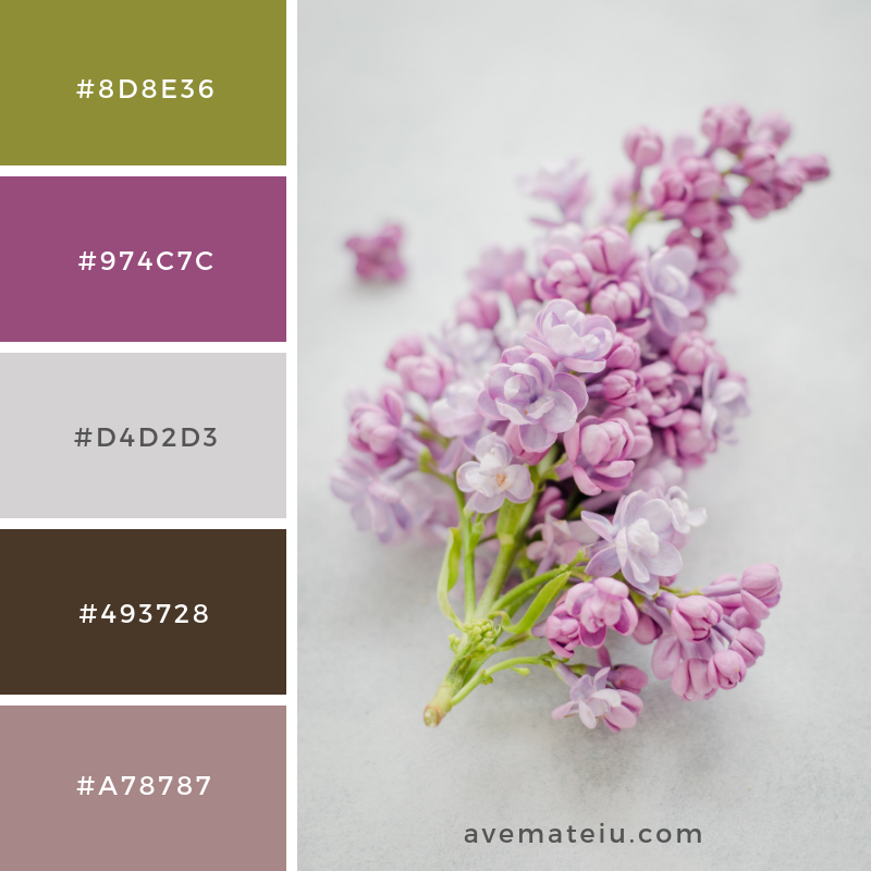 Color Palette #195 - Color combination, Color pallets, Color palettes, Color scheme, Color inspiration, Colour Palettes, Art, Inspiration, Vintage, Bright, Blue, Warm, Dark, Design, Yellow, Green, Grey, Red, Purple, Rustic, Fall, Autumn, Winter, Spring 2019, Nature, Spring, Summer, Flowers, Sunset, Sunrise, Pantone https://avemateiu.com/color-palettes/