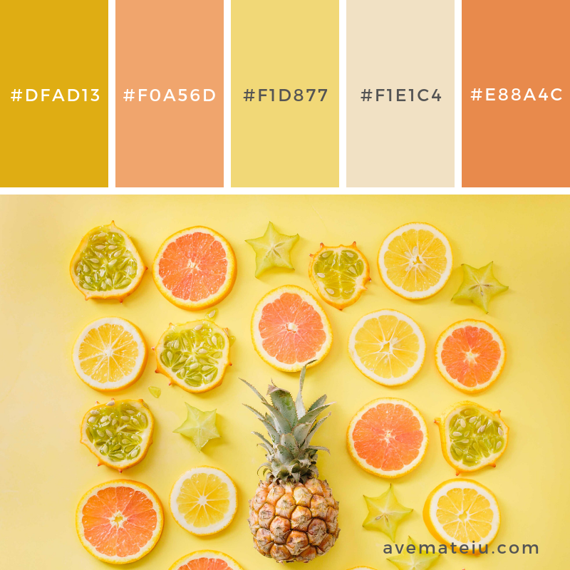 Color Palette #196 - Color combination, Color pallets, Color palettes, Color scheme, Color inspiration, Colour Palettes, Art, Inspiration, Vintage, Bright, Blue, Warm, Dark, Design, Yellow, Green, Grey, Red, Purple, Rustic, Fall, Autumn, Winter, Spring 2019, Nature, Spring, Summer, Flowers, Sunset, Sunrise, Pantone https://avemateiu.com/color-palettes/