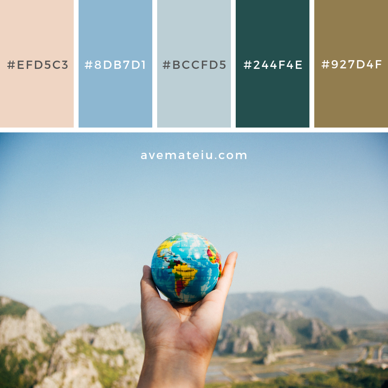 Color Palette #200 - Color combination, Color pallets, Color palettes, Color scheme, Color inspiration, Colour Palettes, Art, Inspiration, Vintage, Bright, Blue, Warm, Dark, Design, Yellow, Green, Grey, Red, Purple, Rustic, Fall, Autumn, Winter, Spring 2019, Nature, Spring, Summer, Flowers, Sunset, Sunrise, Pantone https://avemateiu.com/color-palettes/