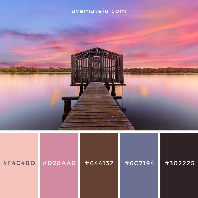 Color Palette #202 - Color combination, Color pallets, Color palettes, Color scheme, Color inspiration, Colour Palettes, Art, Inspiration, Vintage, Bright, Blue, Warm, Dark, Design, Yellow, Green, Grey, Red, Purple, Rustic, Fall, Autumn, Winter, Spring 2019, Nature, Spring, Summer, Flowers, Sunset, Sunrise, Pantone https://avemateiu.com/color-palettes/