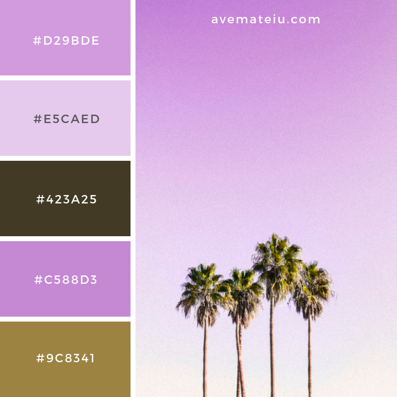 Color Palette #207 - Color combination, Color pallets, Color palettes, Color scheme, Color inspiration, Colour Palettes, Art, Inspiration, Vintage, Bright, Blue, Warm, Dark, Design, Yellow, Green, Grey, Red, Purple, Rustic, Fall, Autumn, Winter, Spring 2019, Nature, Spring, Summer, Flowers, Sunset, Sunrise, Pantone https://avemateiu.com/color-palettes/